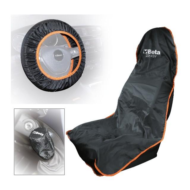 Reusable seat, steering wheel and gear knob protector - Beta 2254K