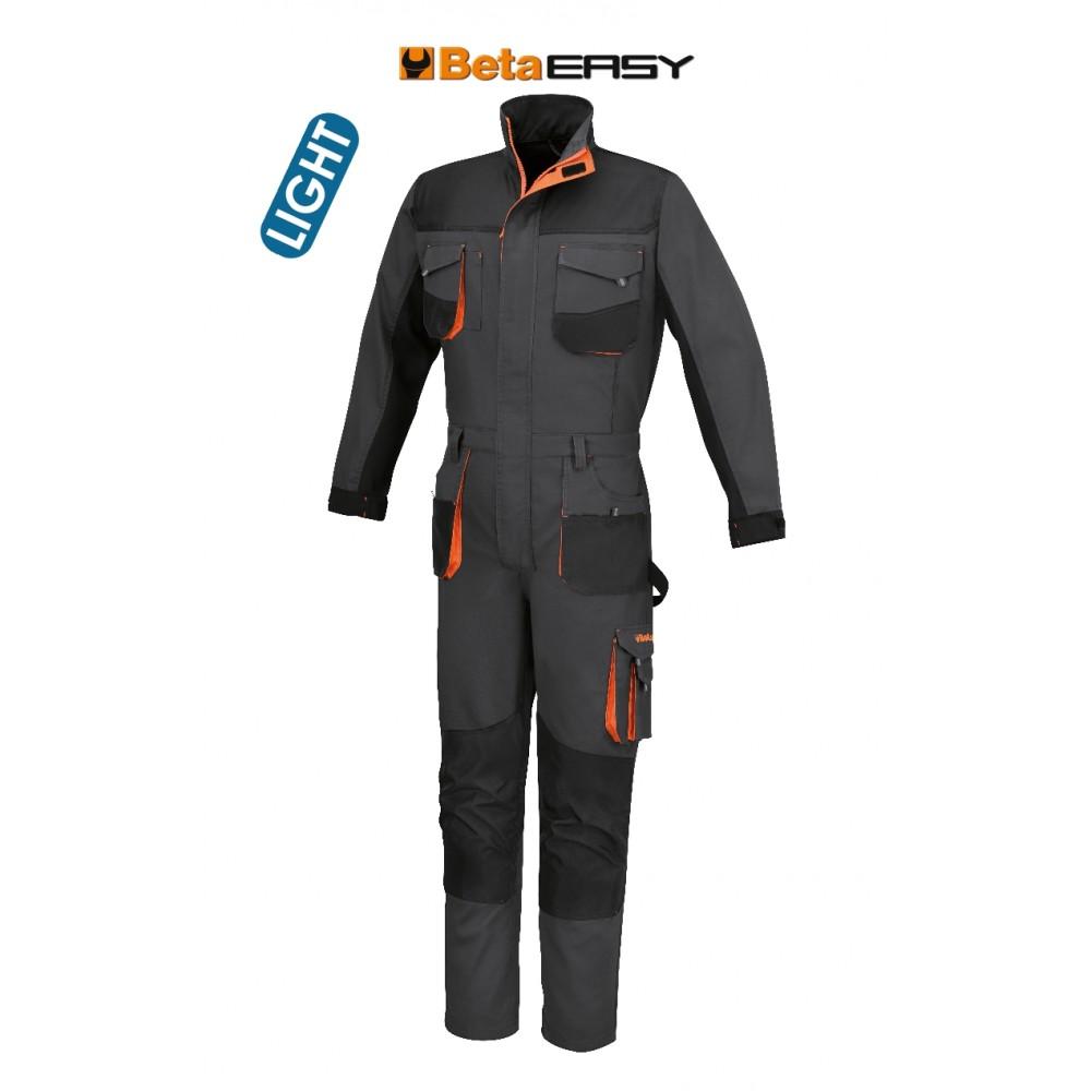 Work overalls, lightweight New design - Improved fit - Beta 7865G