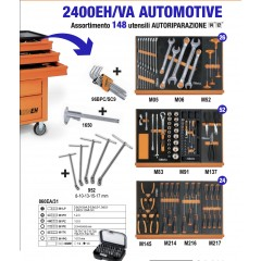 Drawer Tool with 148 tools Beta 9324/VA