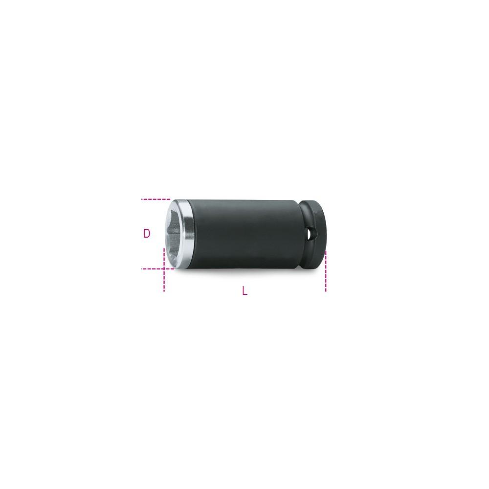 Chiavi a bussola Macchina con inserto di alluminio per dadi ruote - Beta 720IA