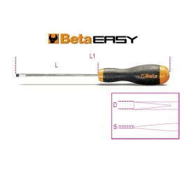 Screwdrivers for headless slotted screws 1204