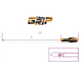 Long screwdrivers for cross head Phillips screws 1262L