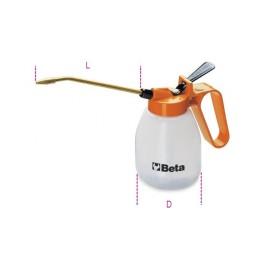 Plastic pressure cans with rigid spouts 1752
