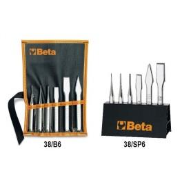 Serie di punzoni e scalpelli Beta 38