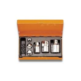 Serie di 6 raccordi ed adattatori per chiavi a bussola 902R/C6