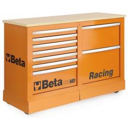 Cassettiera con piano di lavoro Beta C39MD