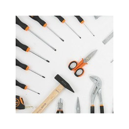 Assorted hand tools sets and kits