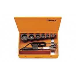 Plastic welding machines and heating plates for polywelders