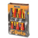 Insulated screwdrivers Beta Tools