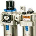 Air filter regulator and air line accessories